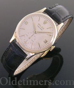 1966 9ct gold vintage Rolex Precision watch