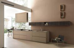 Pittura Pareti Tortora : Soffitto scuro pareti chiare architettura arredamento part