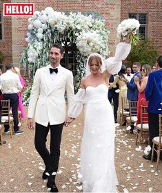 Summer wedding inspiration from celebrity brides Holly Willoughby, Emily Andre & more - Photo 2