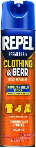 Repel Hg-94127-1 Permethrin Clothing And Gear Insect Repellent Aerosol, 6.5-Ounce, Pack Of 6, 2015 Amazon Top Rated Repellents #Lawn&Patio