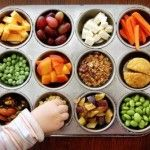 "Great ""tray"" of snacks to put out for the kids after school, but also a great way to measure out snacks to take to work for morning & mid-afternoon snacks as well as ""dessert"" for your healthy lunch."