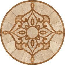 tile medallion- different colors but nice design