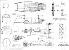 3 wheel morgan blueprints - Google Search
