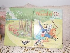 1962 The Wizard of Oz By L Frank Baum Hard by Daysgonebytreasures