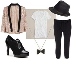 Black and White Michael Jackson Inspired Outfit