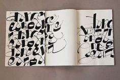 Workshop in Venice with Monica Dengo. Handwriting with automatic pen. Fondazione Musei Venezia, October 2013
