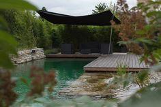 WOHNHAUS ZWENTENDORF - kramer und kramer Swimming Ponds, Garden Design, Deck, Terraces, Pools, Outdoor, Swimming, Homes, Lawn And Garden