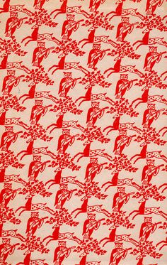 The Book of Nonsense endpapers #pattern #patternplay #color #fun #unique #wallpaper #decor