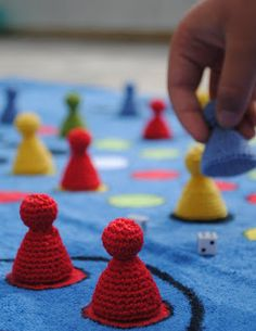 Crocheting Games : ... about Crochet; Games on Pinterest Bowling, Fishing games and Crochet