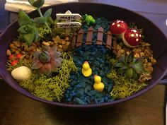 DIY fairy garden with Party'n With Plants