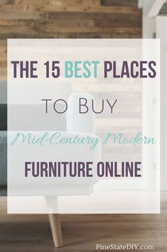 The 15 Best Places to Buy MidCentury Modern Furniture Online is part of Buy home Furniture - The 15 best websites selling midcentury modern furniture and home decor All of the resourses you need to decorate your house in midcentury style Cheap Furniture Stores, Modern Furniture Online, Classic Furniture, Mid Century Modern Furniture, Inexpensive Furniture, Discount Furniture, Midcentury Modern, Furniture Dolly, City Furniture