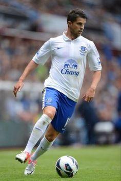 Kevin Mirallas debuts for EFC vs Villa.