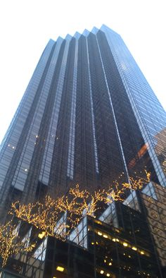 RedCat company trip to the Big Apple - New York in 2010 - Trump Tower #RedCatDigital #NY #NewYork