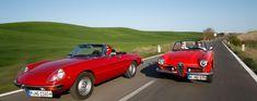 Alfa Romeo 2000 Spider veloce & Giulia Spider in der Toskana | Nostalgic Oldtimerreisen
