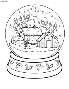 Kleurplaten Voor Kerst.79 Beste Afbeeldingen Van Kerstmis Kleurplaten Kerstmis