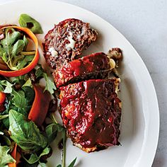 Cheesy Meat Loaf Minis | MyRecipes.com #myplate #protein