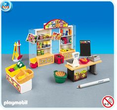 German grocery store by Playmobil
