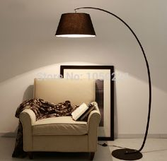 Moderne Arc Vloer Lampen Amerikaanse Nieuwe Stijl Arc Staande Lamp Woonkamer Zwart Boog Vloerlamp Land Stijl Vloer Lampen