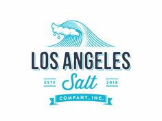 Los Angeles Salt designed by Zvucifantasticno. Connect with them on Dribbble; Retro Surf, Surfing, Salt, Layout, Design, Page Layout, Surf, Salts, Surfs