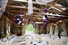 wedding barn decor