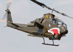 AH-1 Cobra. The first attack helicopter