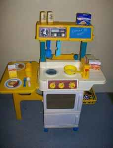 Elegant Fisher Price Kitchen   Loved This As A Child. Have One For Jw Now