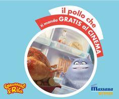 Vi portiamo al #cinema con un #pollo! #pets #gratis con #girarrostisantarita #imiglioridasempre #foodporn #food #chicken #delicious