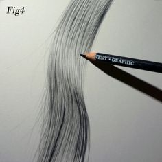 Tips to Drawing Hair by Graham Bradshaw