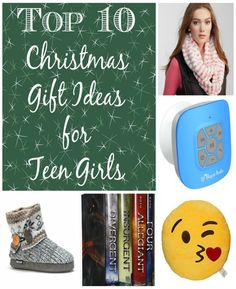 Sometimes it's hard to think of ideas for Christmas gifts for teenagers, especially if they aren't your kids. My 16 and 14 year old daughters helped me put together the perfect list of ideas for the teen girl in your life. You're sure to find a fun and unique idea that she will love in our top 10 list.