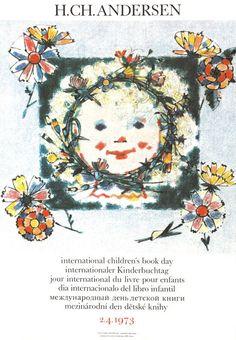 Día Internacional del libro infantil y juvenil 1973. Adolf Zabransky. Checoslovaquia.