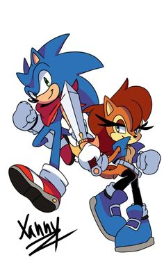 378 Best Sonic And Sally Images In 2020 Sonic Sally Acorn Sonic The Hedgehog