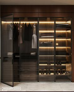 BLOSSOM on Behance Modern Luxury Bedroom, Modern Bedroom Design, Luxurious Bedrooms, Modern Master Bedroom, Bedroom Small, Wardrobe Room, Wardrobe Design Bedroom, Glass Wardrobe, Modern Wardrobe