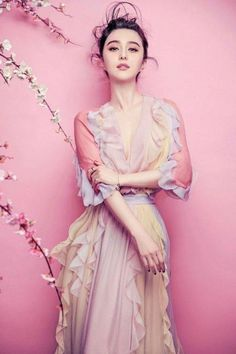 Iris - The Greek Goddess of the rainbow 范冰冰 Fan Bing Bing                                                                                                                                                                                 More