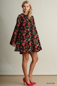 Just My Imagination Dress - Black