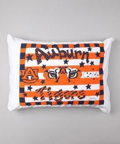 Personalized Auburn Tigers Pillow Case