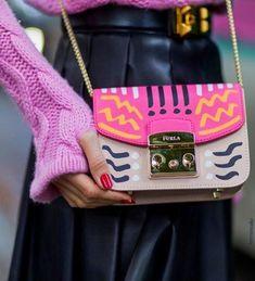 Furla Handbag Designer bag / street style fashion #desginerbag #luxury #streetstyle #fashion / Pinterest: @fromluxewithlove