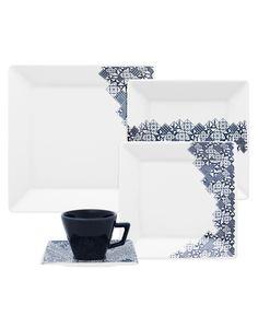 Oxford Porcelanas - Quartier Piece 30 peças