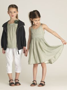 Very cool clothes for little girls from Elias & Grace
