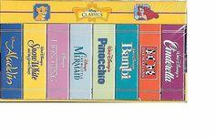 Disney Classic BOOK BLOCK 8 TITLES Pinocchio FACTORY SEALED SEE PICS FREE S&H US #DisneyClassics