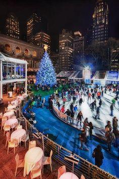 Christmas, Bryant Park, New York City!