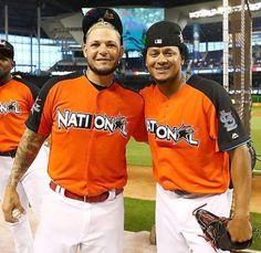 Yadier Molina #AllStarGame #MLB