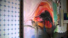 """Acrylmalerei abstract acrylic painting Abstraktes Bild malen """"Wild Thing"""""""