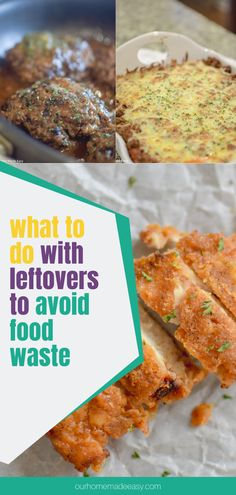 Food waste might seem inevitable, but it doesn't have to be! Here's what I started doing in my home to use up leftovers and avoid food waste. Better for busy weeknights and your wallet. Quick Easy Dinner, Easy Meal Prep, Easy Weeknight Meals, Pork Recipes For Dinner, Grilling Recipes, One Pan Dinner, Food Waste, Budget Meals, Amazing Recipes