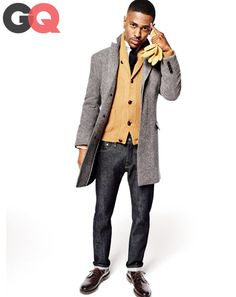 Big sean falls freshest style moves gq magazine october 2013 style 12