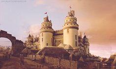 Medieval Anime Castle Gif 42