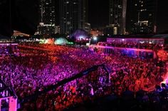 Ultra Music festival Miami 2012.  The largest electronic dance festival in the world.