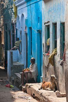 A scene from Varanasi