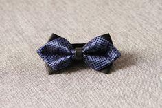 Men's Bow Tie Pre-tied Bow Tie For Men Boy  Navy by NAFEstudio