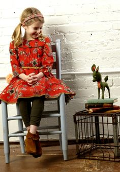 Vintage Frock for the little girl to rock