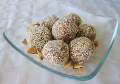 Toasted Coconut Almond Bites